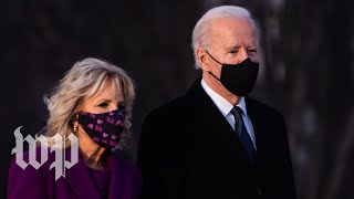 Biden delivers remarks as U.S. coronavirus death toll reaches 500,000