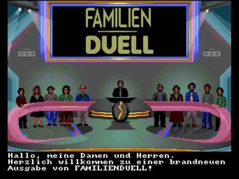 Familienduell  Amiga 500 Longplay  Deutsch  Lets Play Familien Duell