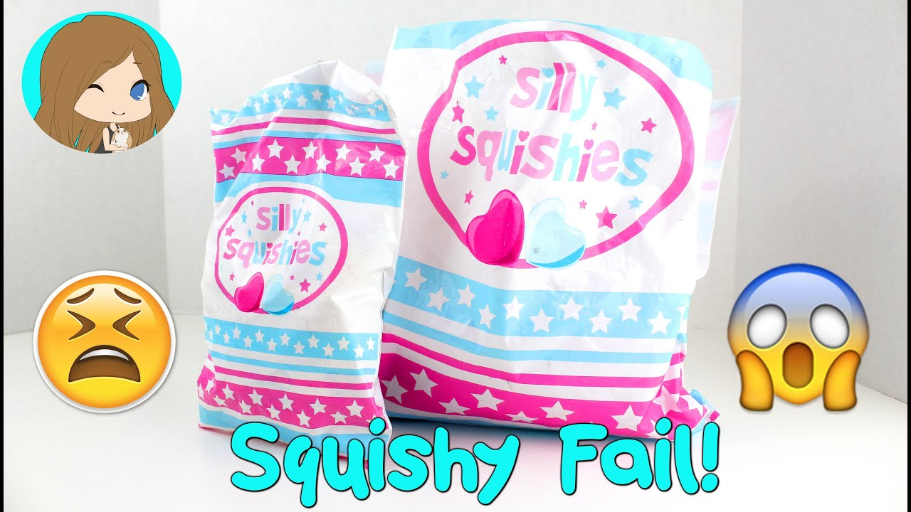 Two Squishy Packages - Squishy FAIL! - YouTube