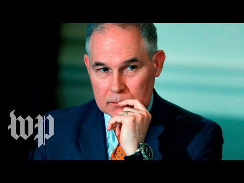 Scott Pruitt testifies before Congress
