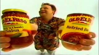 1990 Commercials Old El Paso  Nacho Man Commercial -