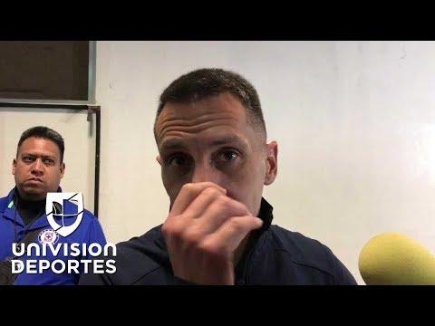 """'Chaco' Giménez sobre arbitraje del Querétaro 1-2 Cruz Azul: """"Son errores de un ser humano"""""""