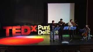 Cuarteto de cuerdas: Fabini at TEDxPuntaDelEste