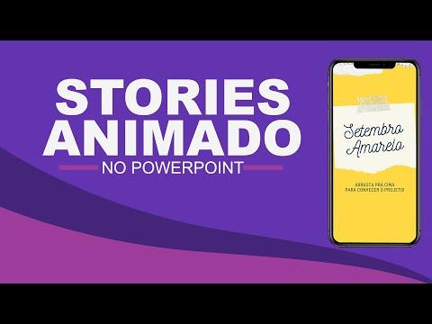 Como Criar Stories Animados Para Instagram Com PowerPoint - Agregar Valor A Stories Estáticos