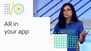 Gebäude AR-apps mit der Sceneform SDK (Google I/O '18)