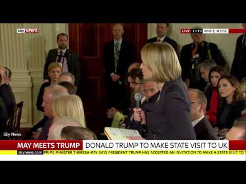 There goes that relationship' Trump's quip to BBC question