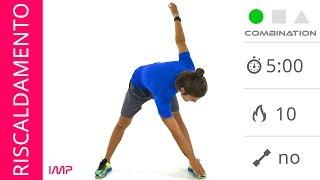 Esercizi di Riscaldamento Muscolare Per Gambe e Glutei