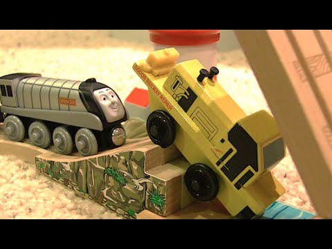 Sodor Railway Repair's Final Stand | Claw of the Law Scenes - Thomas Wooden Railway Movie Clip
