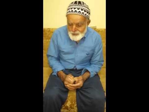 ELAZIĞ Palu İlçesi GÖKDERE Köyünde yaşayan 85 yaşındaki babamın Sayın Cumhurbaşkanımız Recep Tayyip