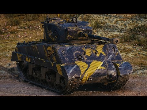 World of Tanks M4A3E2 Sherman Jumbo - 10 Kills 4,1K Damage