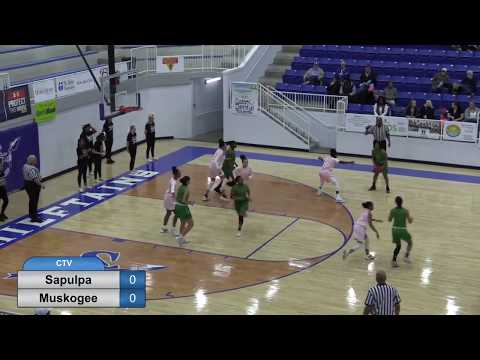 Sapulpa Basketball V. Muskogee Girls