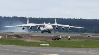 Landing Antonov An-225 Mriya Largest Aircraft In The World HD