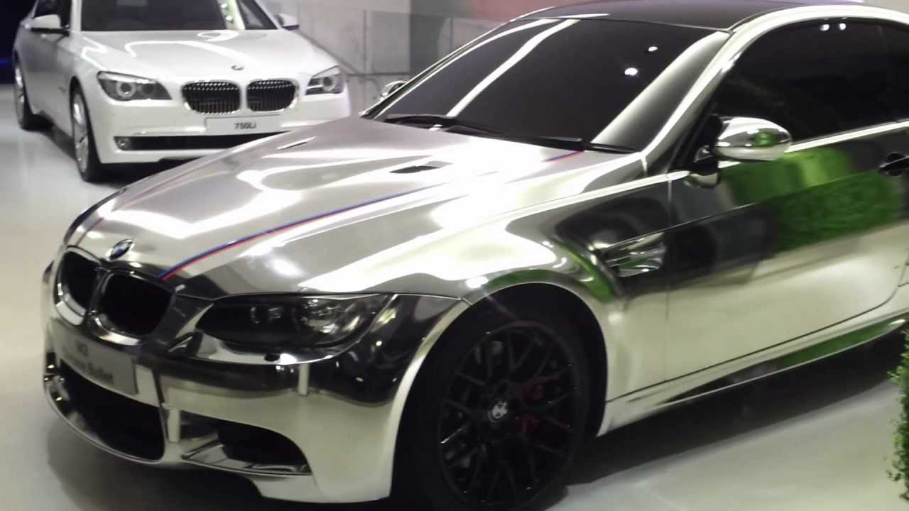 LIMITED EDITION BMW M3 CHROME BULLET EDITION - YouTube