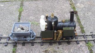 Cracker Live Steam Model Loco Garden Railway.