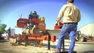 Wood-mizer Portable Sawmills In Action