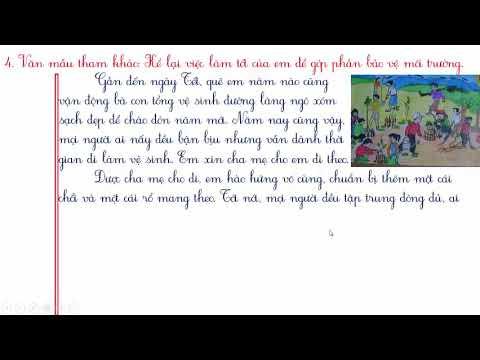 KỂ LẠI VIỆC LÀM TỐT CỦA EM GÓP PHẦN BẢO VỆ MÔI TRƯỜNG #TapLamVan #NhungBaiVanMauHay
