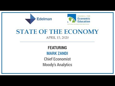 CEE And Edelman Present State Of The Economy With Mark Zandi, Chief Economist Of Moody's Analytics