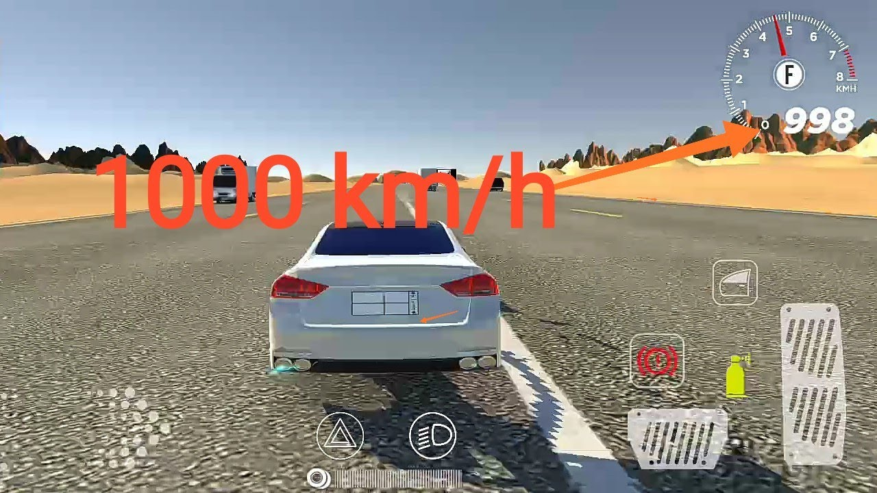 Download 1000 km/h Fast Car in Rababa games tutorial | Drift | car driving simulator | Android Games |