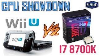 CPU Showdown | Wii U CPU vs i7 8700K | Brand New Benchmark Tool for Cemu Emulator