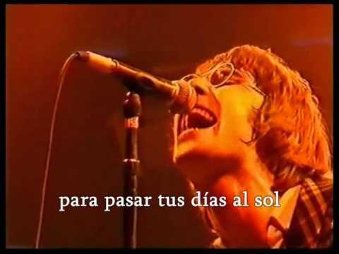 Oasis- Cigarettes and Alcohol (Traducida en Español)