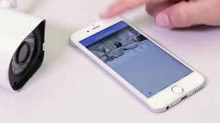 Налаштування і підключення бездротової вуличної WiFi камери, артикул 45-0274