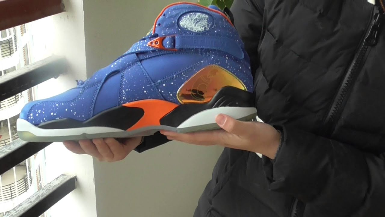 b6c56d6d031d3f perfect replica Air Jordan 8 retro DB Doernbecher review! - YouTube