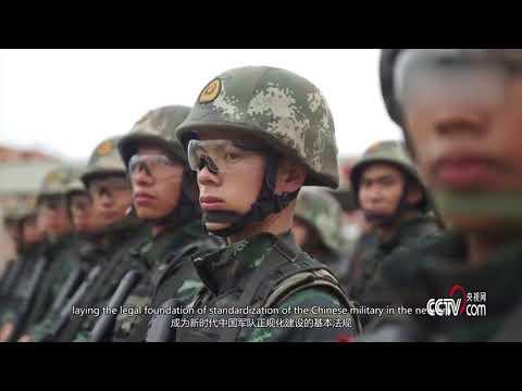 国防部发布全景式大片:今日中国军队2018 | 小央视频