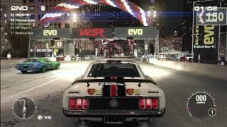 GRID 2, Online Multiplayer Gameplay on Xbox 360, Part 1