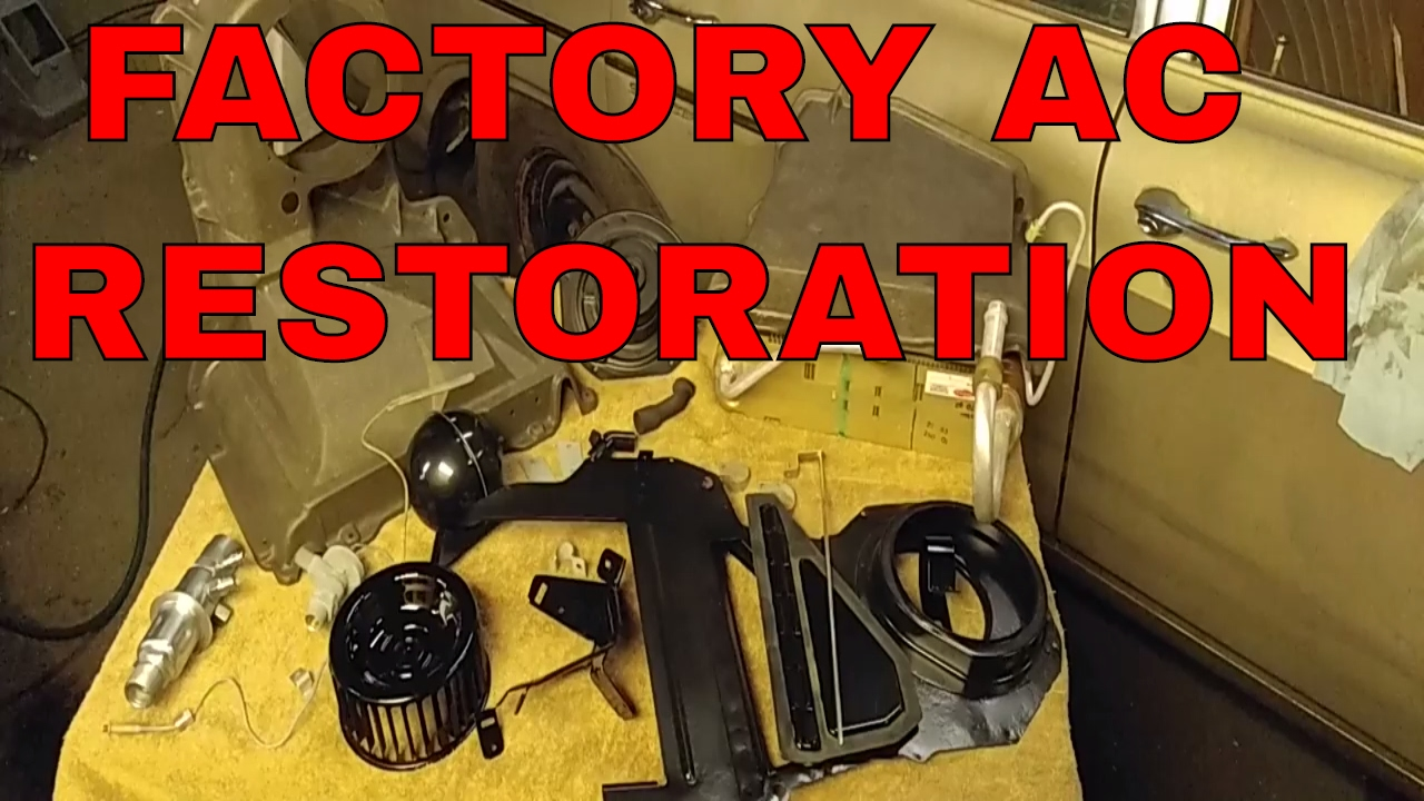 67-72 chevy truck air conditioning restoration - YouTube