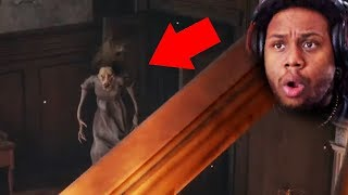 BRO WHAT IN THE WORLD IS THAT? A *NEW* SCARY HORROR GAME! | Silver Chains Gameplay #1