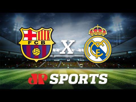 AO VIVO - Barcelona x Real Madrid - 18/12/19 - Campeonato Espanhol - Futebol JP