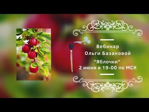 """Вебинар от Ольги Базановой - """"Яблочки"""""""