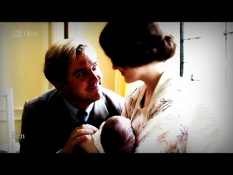 """♥ Mary & Matthew, Sybil & Tom 