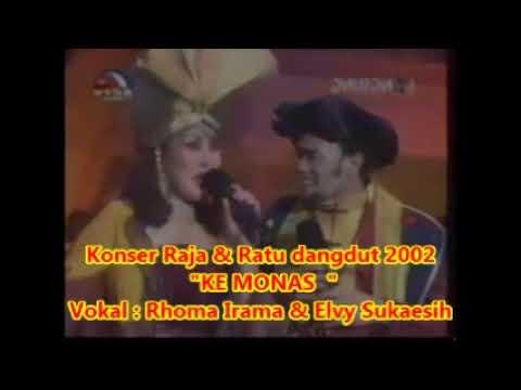 (1,055)  Rhoma Irama & Elvy Sukaesih : KE MONAS - Konser Raja & Ratu Dangdut 2002