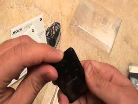 DGW.Hu ARCHOS 18B Vision MP3 lejátszó bemutató video