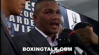 Felix Trinidad Post Fight Inteview after loss to Roy Jones Boxingtalk Classic