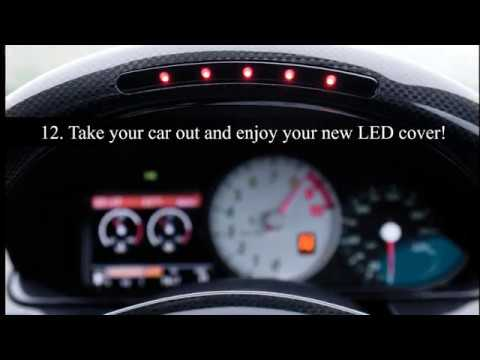 Ferrari Led Shift Light Cover Replacement Install Instructions