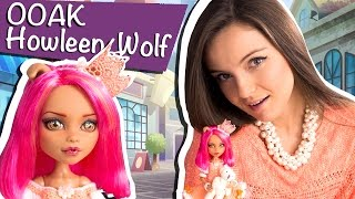 Howleen Wolf OOAK (Хоулин Вульф ООАК A Pack Of Trouble) Monster High/Школа Монстров