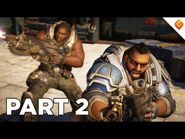 GEARS 5 Walkthrough Gameplay Part 2 - No Commentary