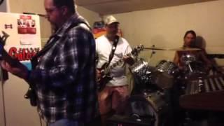 Phillip jones singing with band Roughcut