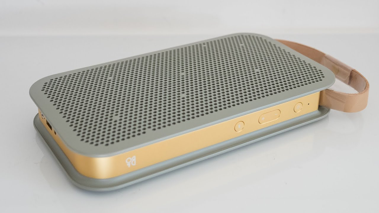 Mar 8, 2017. Looking for a great portable wireless speaker with 24 hours of battery life and a strong bluetooth signal; check out the b&o beoplay a2 speaker.
