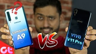 Vivo V11 Pro vs Samsung Galaxy A9 Comparison, Camera, Speed, Design...