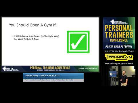 9 Steps to Open Your First Facility, with David Crump | NSCA.com