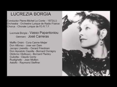 LUCREZIA BORGIA - G. Donizetti. Pierre-Michel Le Conte.