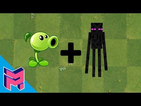 Plants vs Zombies Fusion Hack Animation ( Peashooter + Enderman )