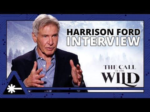 Harrison Ford Has Serious Pocketknife Skills (CALL OF THE WILD Interviews)