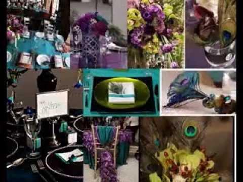 Peacock wedding decorating ideas