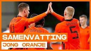 Jong Oranje vernedert Cyprus en plaatst zich voor EK! 🔶🔥 | Samenvatting Jong Cyprus - Jong Oranje