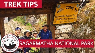 Sagarmatha National Park - Home of Mt.. Everest   Trek Tips
