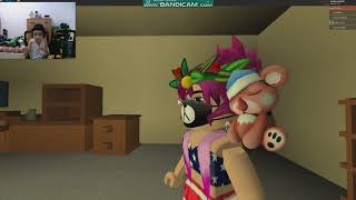 I BROKE MY ARM!!! (Horror game roblox episode 1 #kevincortin